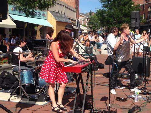 Parlour Bells Live at Make Music Harvard Square